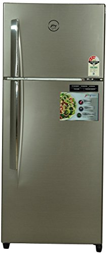 Godrej 241 L 3 Star Frost Free Double Door Refrigerator RT Eon 241 P 3.4, Silver Glaze