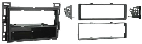 Metra Single DIN Dash Installation Kit for 2010-Up Select GM/Pontiac/Saturn Vehicles (Silver)
