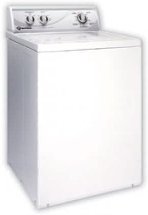 "AWN412 26"" Top-Load Washer with 3.3 cu. ft. Capacity 8 Wash Cycles 2 Speeds 473/710 RPM Spin Speed 1/2 HP Motor and Stainless Steel"