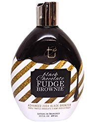 (Brown Sugar BLACK CHOCOLATE FUDGE BROWNIE 200X Black Bronzer - 13.5 oz.)