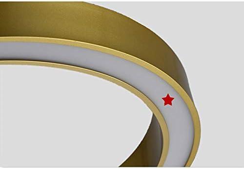 Classe /énerg/étique A ++ Convient for Le Salon//Chambre /à Coucher//Lampe d/étude Moderne dor Art Lustre LED d/économie d/énergie Lustre HF-Lustre Chambre Lustre en Acrylique