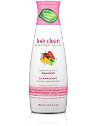 Live Clean Super Fruit Water Quenching Curls Shampoo, 12 Fl oz