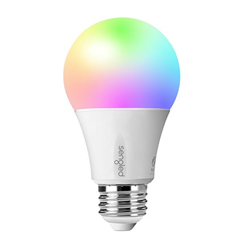 Sengled Element Color A19 Add-On Smart LED Light Bulb Multicolor E11-N1EAW