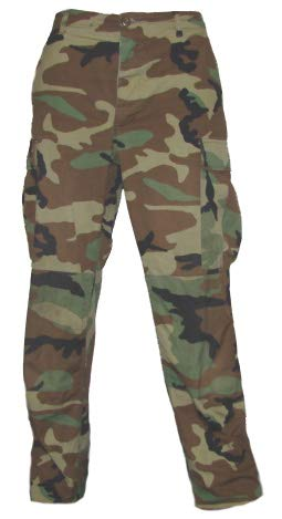 Military Outdoor Clothing Military Style BDU Pants (Woodland, 3 X-Large/Regular) ()