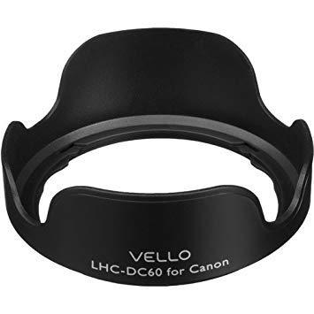 3 Pack Vello LHC-DC60 Dedicated Lens Hood