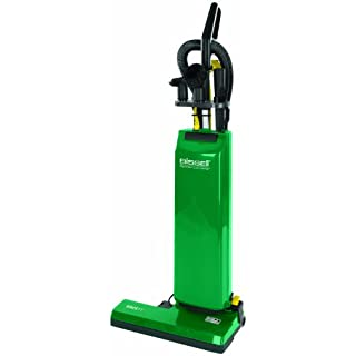 "BISSELL BigGreen Commercial Bagged Upright Vacuum, 5.83L Bag Capacity, 18"" Cleaning Path, Green"