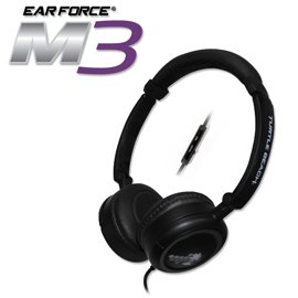 Turtle Beach Ear Force M3 Silver Mobile Gaming Headset w/mic For Sale