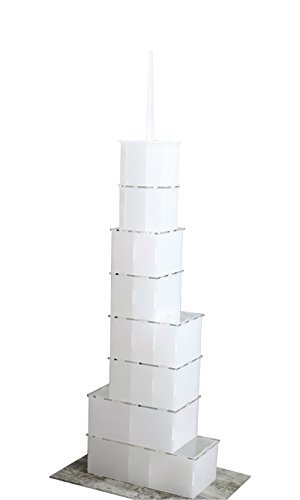 AV Craft Tr-tower, Architecture Building Kits (Analogue of Trump International Hotel and Tower in (Chicago Hotel Towers)