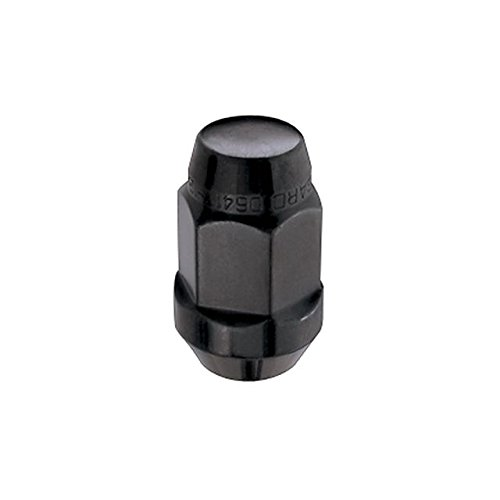 Black Cone Seat Bulge Style Lug Nuts (M12 x 1.5 Thread Size) - Box of 144 ()