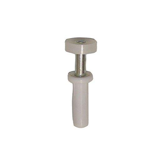 New Life 9-1135 Bi-Fold Door Top Pivot with Roller 3/4-Inch Wheel (2 (Metal Bi Fold Door)