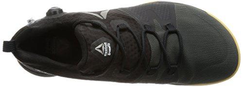 Reebok Bd2177, Zapatillas de Deporte para Hombre Negro (Black / Coal / Classic White / Gum / Pewter)