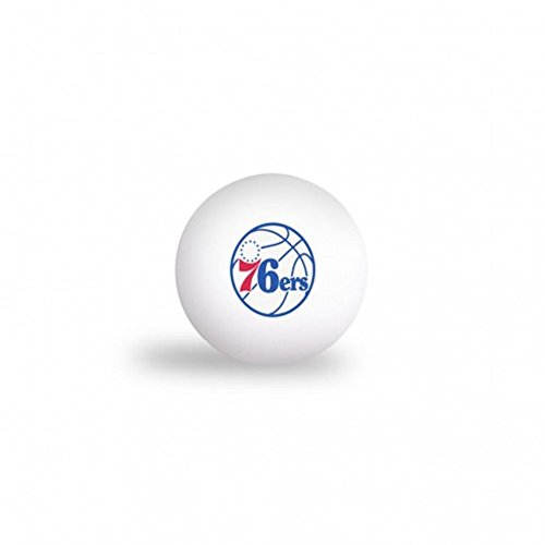McArthur NBA Philadelphia 76ers 6 Pack Ping Pong Balls by McArthur
