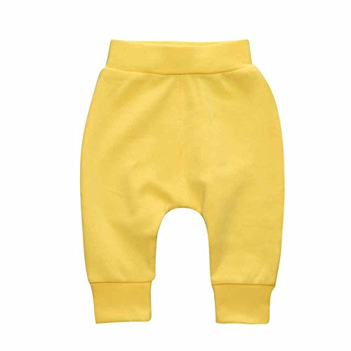 Yellow Ankle Pants - 7