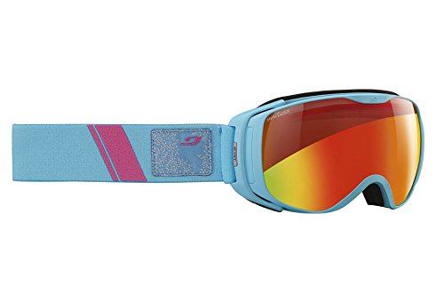 Snow Tiger (Julbo Women's Luna Fire Snow Tiger Lens, Blue, Small)