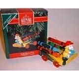 1992 Bright Blazing Colors Crayola Crayons Hallmark Keepsake Ornament