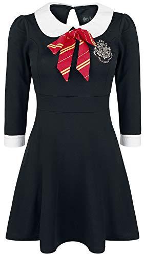 Harry Potter House Dress Korte jurk zwart A-Linien-Kleider, Fan merch, Film