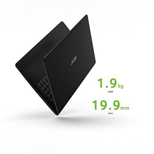 Acer Aspire 5 A515-52K 15.6-inch Laptop (7th Gen Intel Core i3-7020U processor/4GB/1TB/Win10/MSO/Integrated Graphics), Black