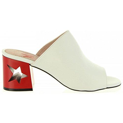 50718 Blanco MTNG Damen Schuhe Gentle für C40709 Ferse q6awU