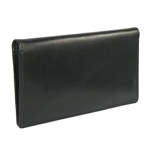 ILI Checkbook Cover 7406,One Size,Black