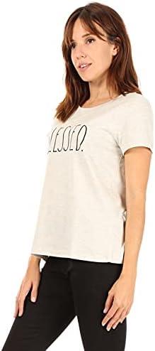 Rae Dunn Women's Short Sleeve Icon T-Shirt