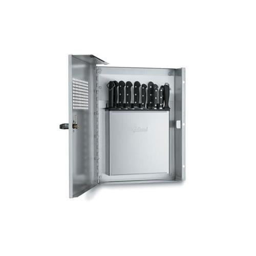 - Edlund KLC-994 Locking Knife Cabinet with KR-699 Knife Rack
