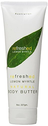 Tea Tree Therapy Lemon Myrtle Body Butter, 8 Ounce