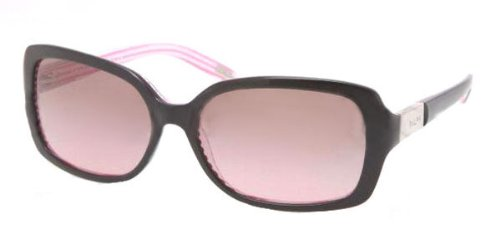 Ralph by Ralph Lauren 0RA5130 109214 Square Sunglasses,Black & Pink Stripe,58 - Ralph Eyeglasses Lauren Womens