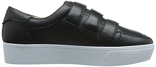 Nine West Hidrate Leather Fashion Sneaker Black