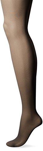 (L'eggs Women's Sheer Energy Control Top Toe Pantyhose, Off Black, Q)