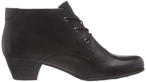Tamaris 25108 - botas de cuero mujer negro - negro