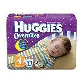 Huggies Overnites Diapers Size 4  Jumbo
