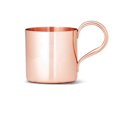 """""""Moscow Mule"""" Mug by Cocktail Kingdom, Pure Copper, 12 Oz"""
