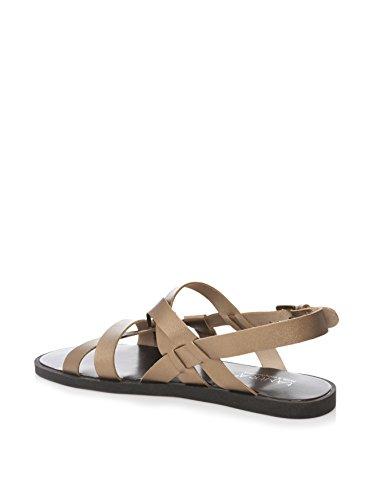 Tantra Striped Sandals - Sandalias para mujer Bronce