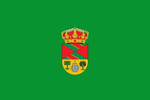 magFlags Bandera Large Municipio de Carabaña Comunidad de Madrid | Bandera Paisaje | 1.35m² | 90x150cm