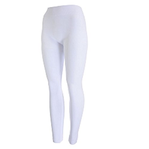 - 31hab6boKmL - New Mix by New Kathy Plus Size Leggings, White