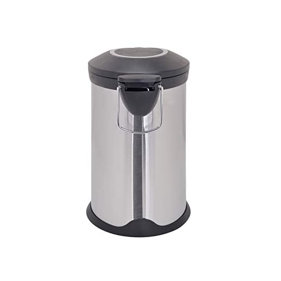 Bathla Contempo Stainless Steel Pedal Step Dustbin - Small (5 L) 5