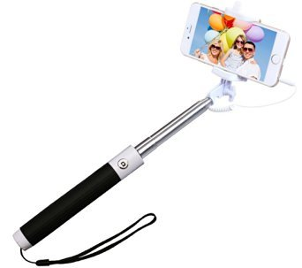 Self Portrait Extendable Handled Stick with Adjustable Phone Holder & Built-in Remote Shutter (Creative Halloween Costumes Ideas)