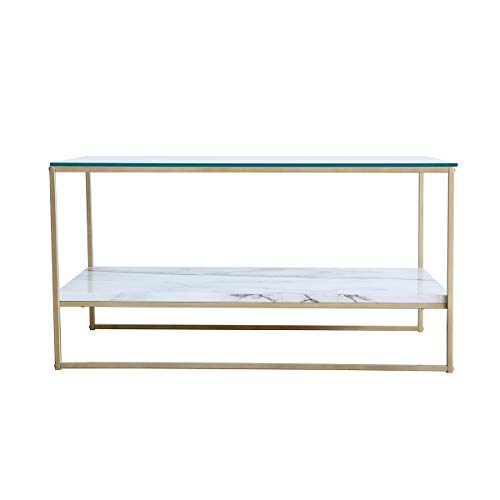 Home Kitchen Furniture Coffee Tables Cocktail Table With Gold Metal Legs Living Room Furniture Tilly Lin Faux Marble Coffee Table Glass Top Coffee Table Xn 80aaar1aecnln7gzb2b Xn P1ai
