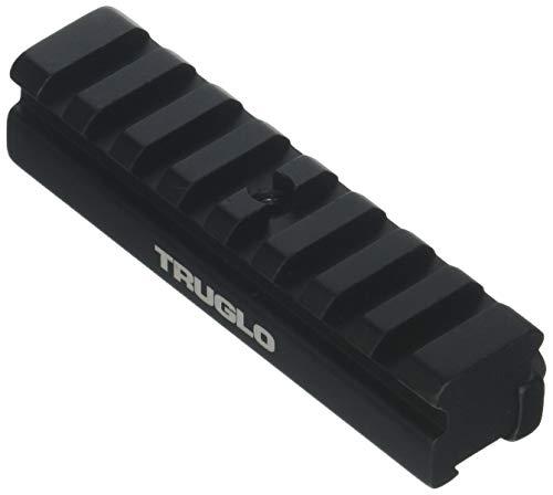 TRUGLO Rib Mounting Adapter 3/8 to Weaver Black