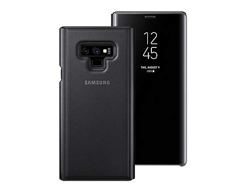 the latest 0c2d9 27ac0 Samsung Galaxy Note9 Clear View S-View Standing Cover Case EF-ZN960CBEGKR  Black