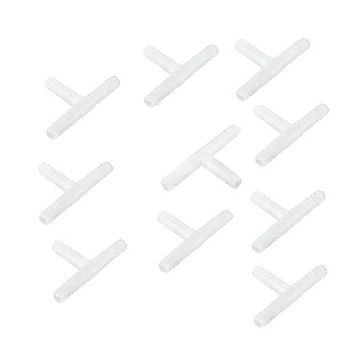 Amazon.com : eDealMax acuario pecera de plástico en Forma de T 3 maneras de tuberías válvulas de aire DE 6 mm de montaje Dia 10pcs : Pet Supplies
