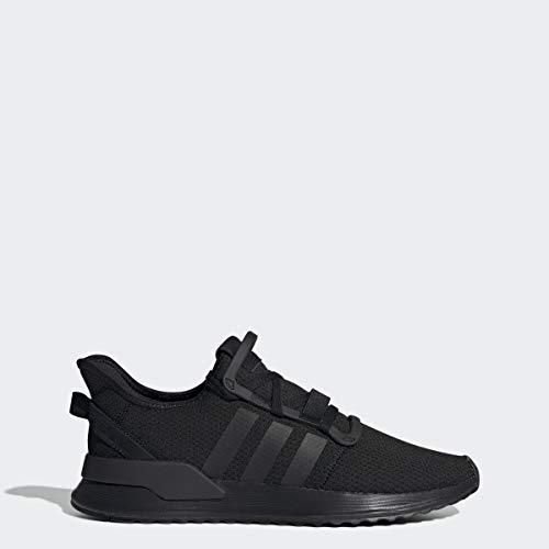 adidas Originals Men's U_Path Running Shoe, Black/Black/White, 9.5 M US