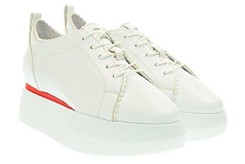 Donna Piattaforma Guardiani Sd56451a ne10 Sneakers Sport Bianco Con wCWCxq5gnv