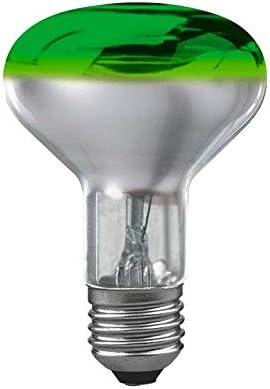 Paulmann bombilla reflector r80 60w e27 verde bombilla 60 vatios Green regulable