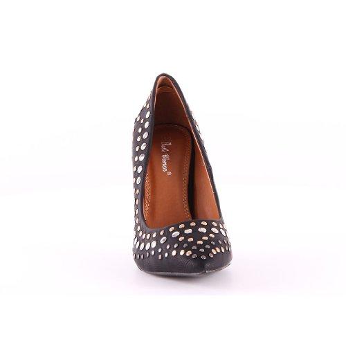 Scarpe Da Tacco Nuove Donna Design Di Alto Nero Con pEwrfpq