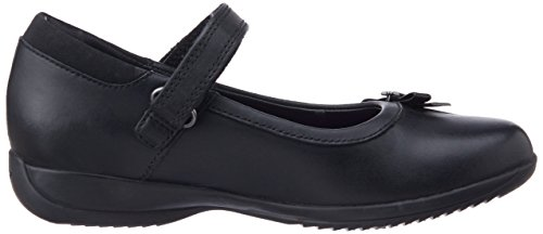 Clarks Daisyspark Jnr Mädchen Schuhe Nero (Nero)