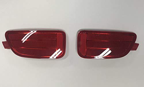 Kia Motors OEM Genuine 924512K500, 924522K500 Rear Left Right Bumper Reflector Assembly 2-pc Set For 12 13 Kia Soul
