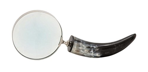 15' Natural Horn Handle Magnifier - Magnifying Glass