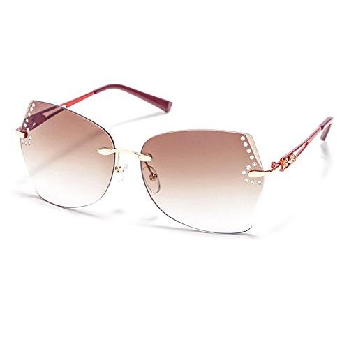 lunettes de soleil mesdames lunettes de soleil women's new style élégant personnalité korean rétro yeux star des lunettes visage rondbright black mercure vert (tissu) 8OYVZHLg8Z