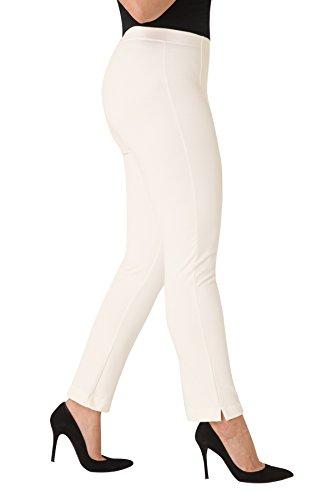 Parabita - Pantalones slim elásticos energy Crudo